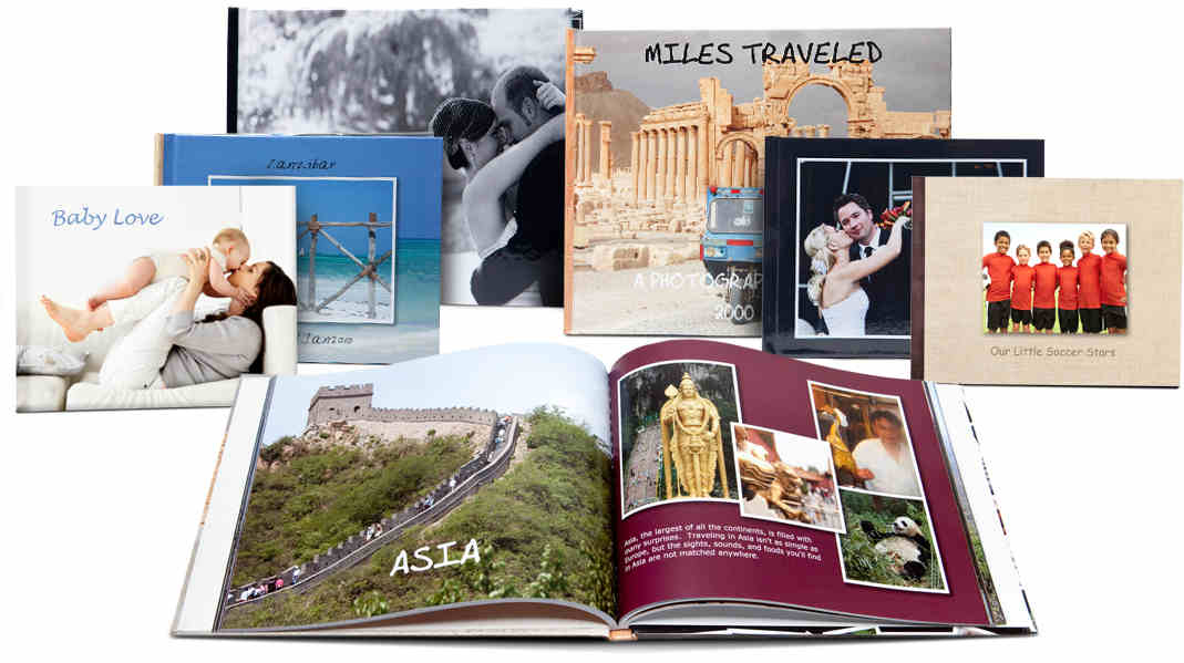 Classic Custom photo books from Picaboo